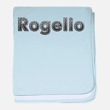 Rogelio Metal baby blanket