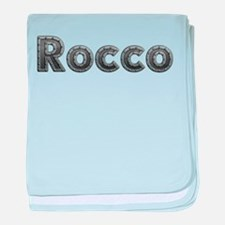 Rocco Metal baby blanket