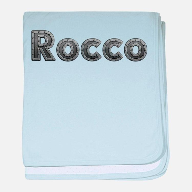 Rocco Metal baby blanket
