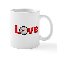 Love 24/7 Mugs