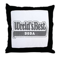 WB Grandpa [Uzbek] Throw Pillow