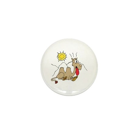 Silly Thirsty Camel Mini Button (10 pack)