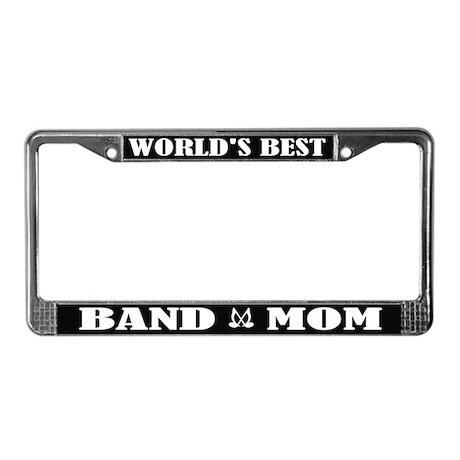 Best Band Mom License Plate Frame