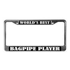 Best Bagpiper License Plate Frame