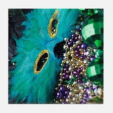 Carnival Spirit of Mardi Gras Tile Coaster