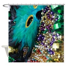 Carnival Spirit of Mardi Gras Shower Curtain