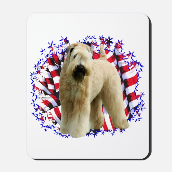 Wheaten Patriot Mousepad