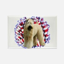 Wheaten Patriot Rectangle Magnet
