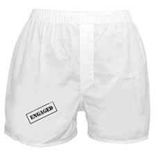 Engaged Stamp Boxer Shorts
