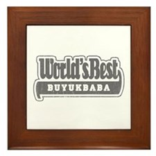 WB Grandpa [Turkish] Framed Tile