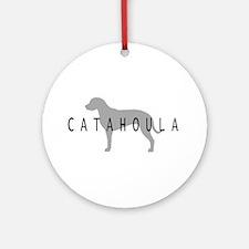 Catahoula Ornament (Round)