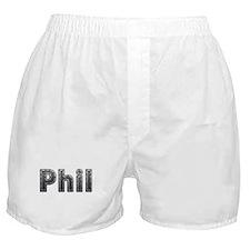 Phil Metal Boxer Shorts