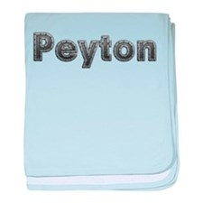 Peyton Metal baby blanket
