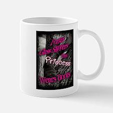 Princess wears boots Mugs