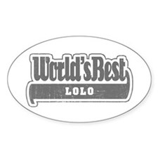 WB Grandpa [Tagalog] Oval Decal