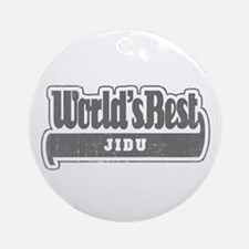 WB Grandpa [Syrian] Ornament (Round)