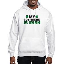 My boyfriend is irish shamrock Hoodie
