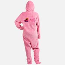 Cali Love #1 Footed Pajamas