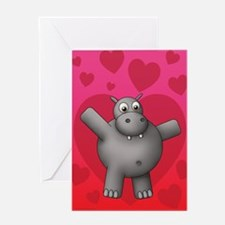 Hippo Valentine's Day Cards (Pk of 10) Greeting Ca
