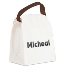 Micheal Metal Canvas Lunch Bag