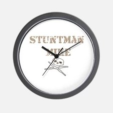 Stuntman Mike Wall Clock