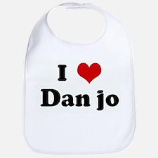 I Love Dan jo Bib