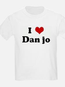 I Love Dan jo T-Shirt