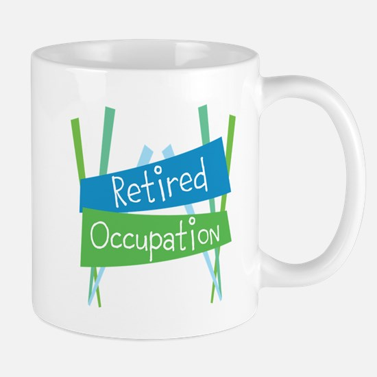 CUSTOMIZE Retired (Right) Mug