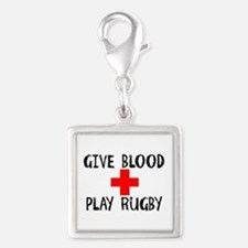 Give Blood, Play Rugby Charms
