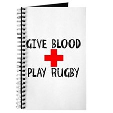 Give Blood, Play Rugby Journal