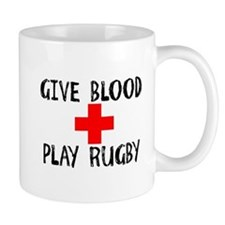 Give Blood, Play Rugby Mugs