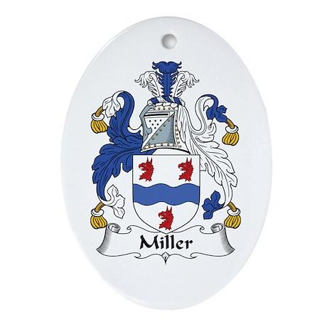 Miller Oval Ornament