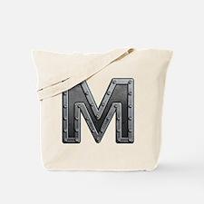 M Metal Tote Bag
