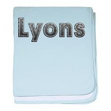 Lyons Metal baby blanket