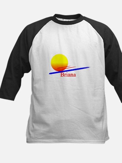 Briana Kids Baseball Jersey