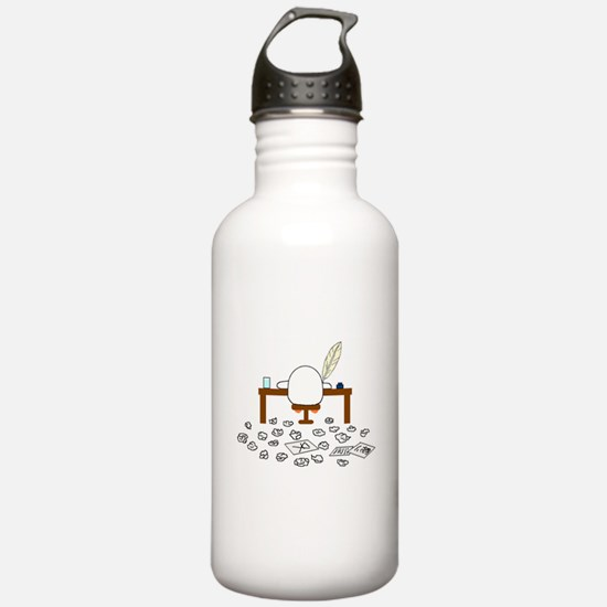 Writer Water Bottle