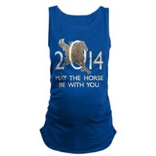Horse With You Maternity Tank Top