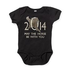 Horse With You Baby Bodysuit