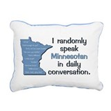 Minnesota Rectangle Canvas Pillows