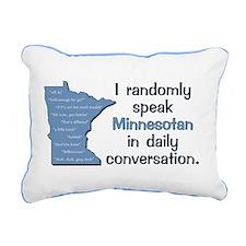 Random Minnesotan Iii Re Rectangular Canvas Pillow