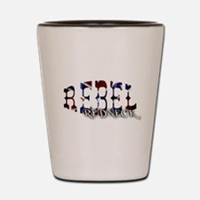 Rebel Redneck 1 Shot Glass