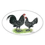 Mottle OE Pair Oval Sticker