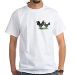 Mottle OE Pair White T-Shirt