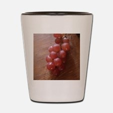 Red Grapes Shot Glass