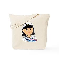 Medium Navy Head - Dress Whites Tote Bag