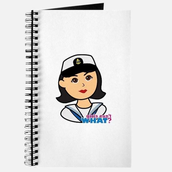 Medium Navy Head - Dress Whites Journal