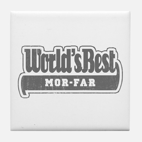 WB Grandpa [Swedish] Tile Coaster