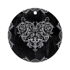 Grotesquerie Heart Ornament (Round)