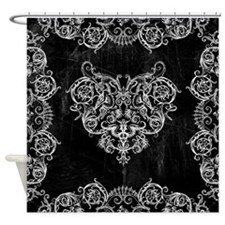 Grotesquerie Heart Shower Curtain