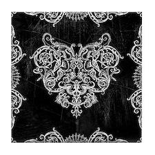 Grotesquerie Heart Tile Coaster